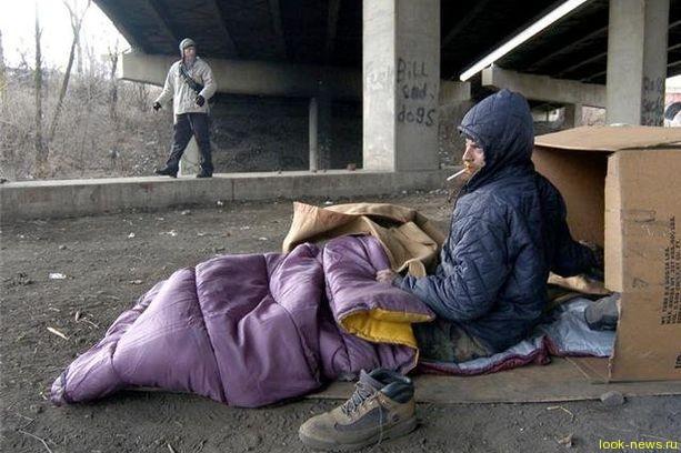 Америка объявила бездомных вне закона