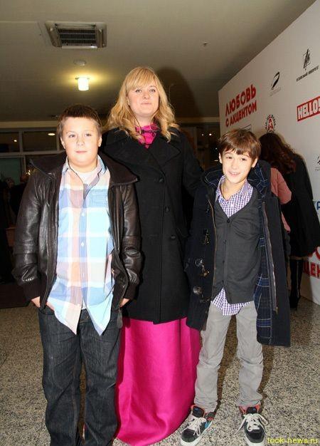 Анна Михалкова в третий раз стала мамой