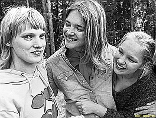 Наталья Водянова и ее семья