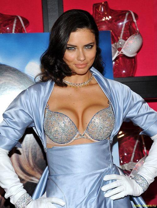 Супермодель Кэндис Свейнпол представила бюстгальтер стоимостью 10 млн. долларов от Victoria's Secret
