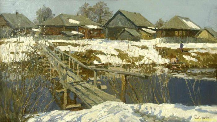 Пейзажи Ирины Рыбаковой — и глазу приятно, и сердцу тепло