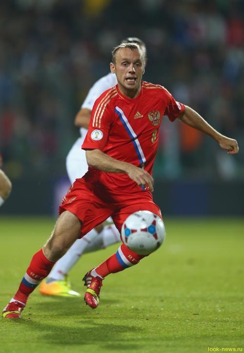 Сборная России по футболу победила команду Люксембурга в отборочном туре