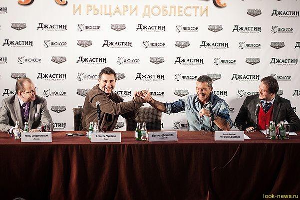 Антонио Бандерас получил звезду на российской Аллее Славы