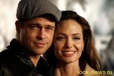 Анджелина Джоли подарила мужу остров в форме сердца