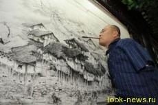 Картины нарисованные ртом и ногой