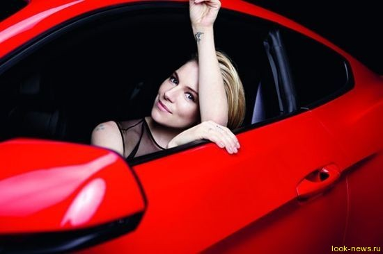 Сиенна Миллер в новом стиле для Ford Mustang