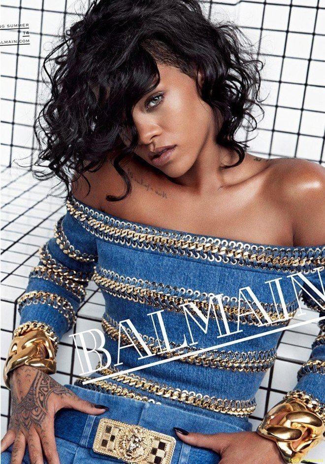 Лицом кампании Balmain стала Рианна