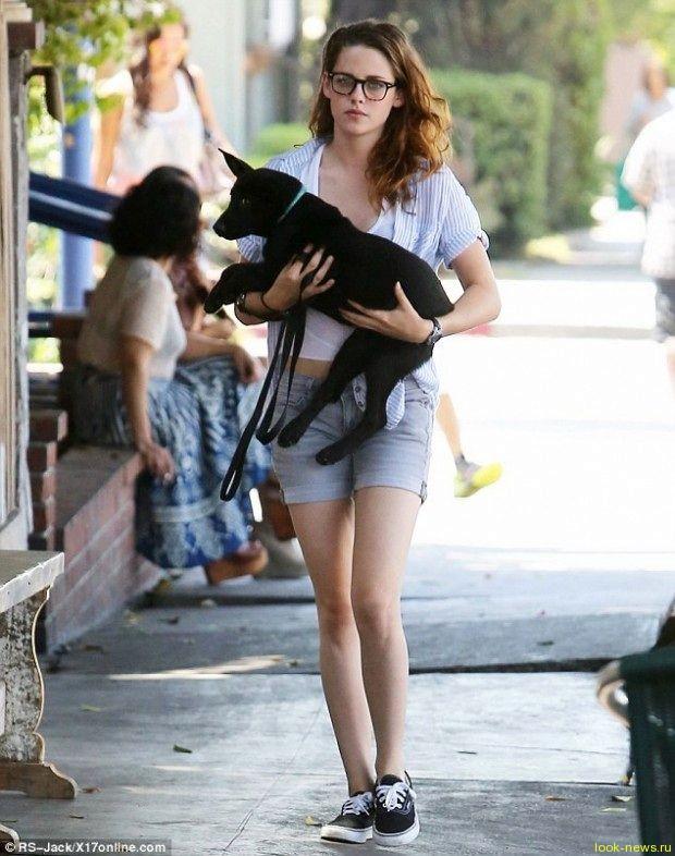 Кристен Стюарт просит Паттинсона подарить ей собаку