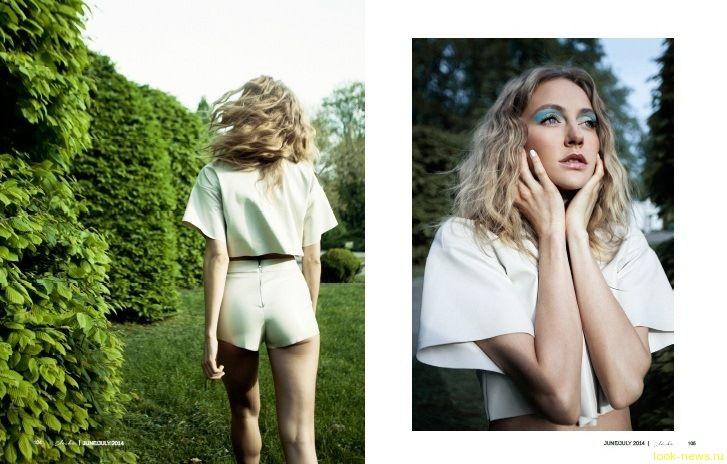 Ева Бушмина украсила страницы американского fashion-журнала