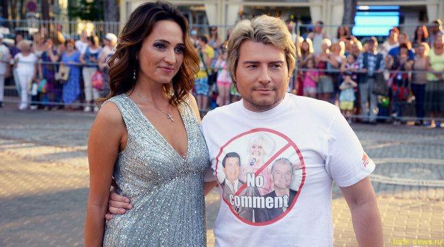 Басков надел футболку в знак протеста