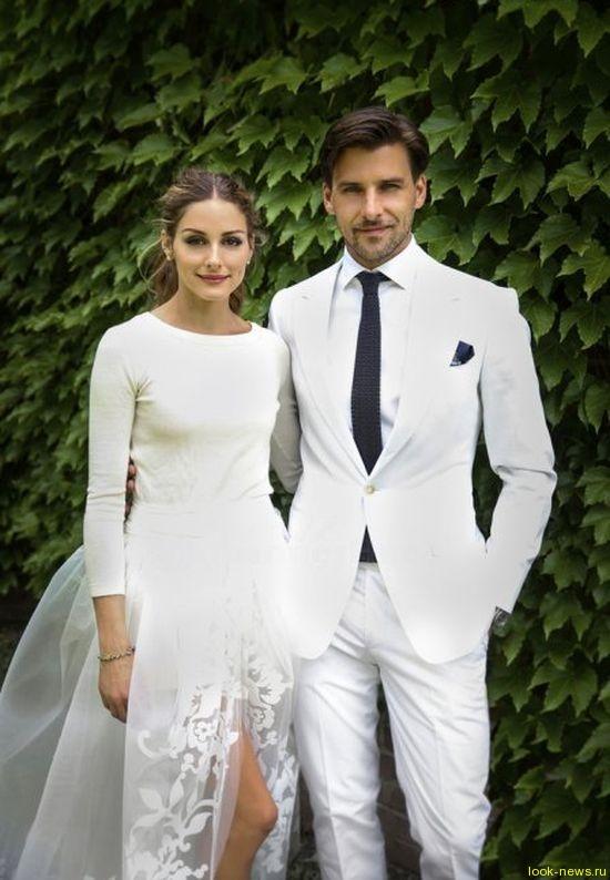 Оливия Палермо впервые рассказала о своей свадьбе с Йоханнесом Хьюблом