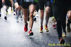 Легкоатлеты вышли на старт марафона Пушкин - Петербург