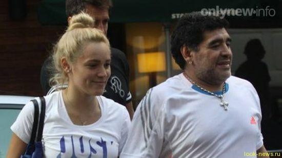 Диего Марадона передумал судиться с 24-летней невестой
