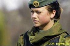 В Норвегии принят закон об воинской повинности для женщин