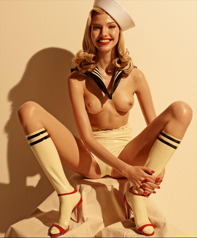 Русские модели обнажились для календаря Pirelli
