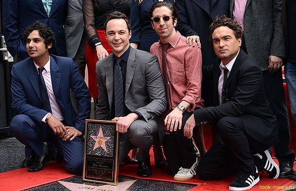 Джим Парсонс получил звезду на Аллее славы в Голливуде