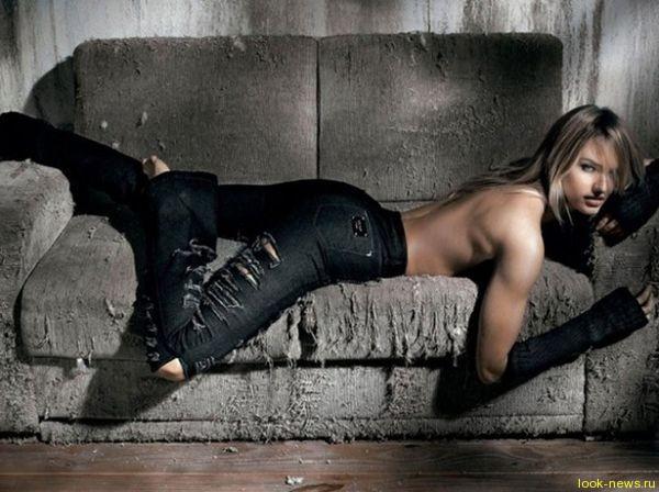 Красотка-модель Кэндис Свейнпоул засветилась в рекламе бразильского бренда Osmoze Jeans.