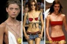 Во Франции ввели законодательный запрет на слишком худых моделей