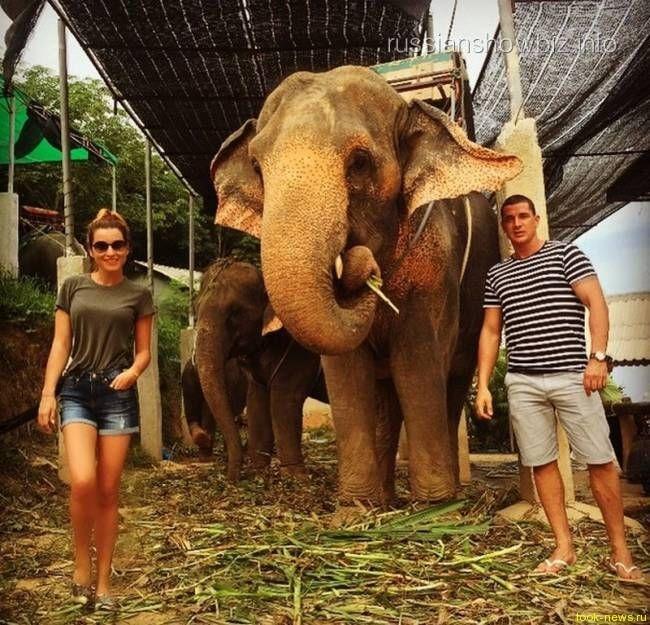 Возлюбленный увез Бородину в Таиланд
