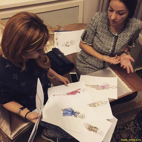 Бойфренд Бородиной помогает ей создавать модный бренд