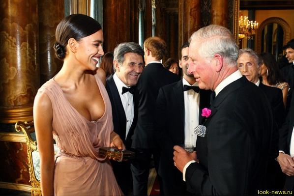 Ирина Шейк встретилась с принцем Чарльзом