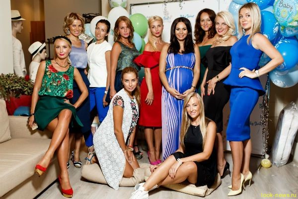 Беременная Инна Жиркова устроила вечеринку в честь будущего сын