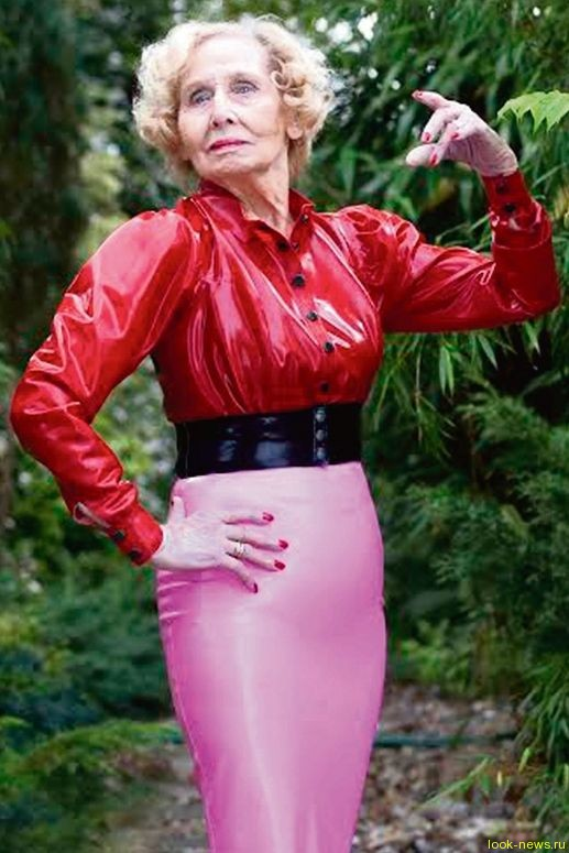 Британка в 95 лет подписала контракт с модельным агентством