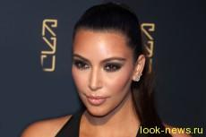 Ким Кардашьян ходит с немытой головой