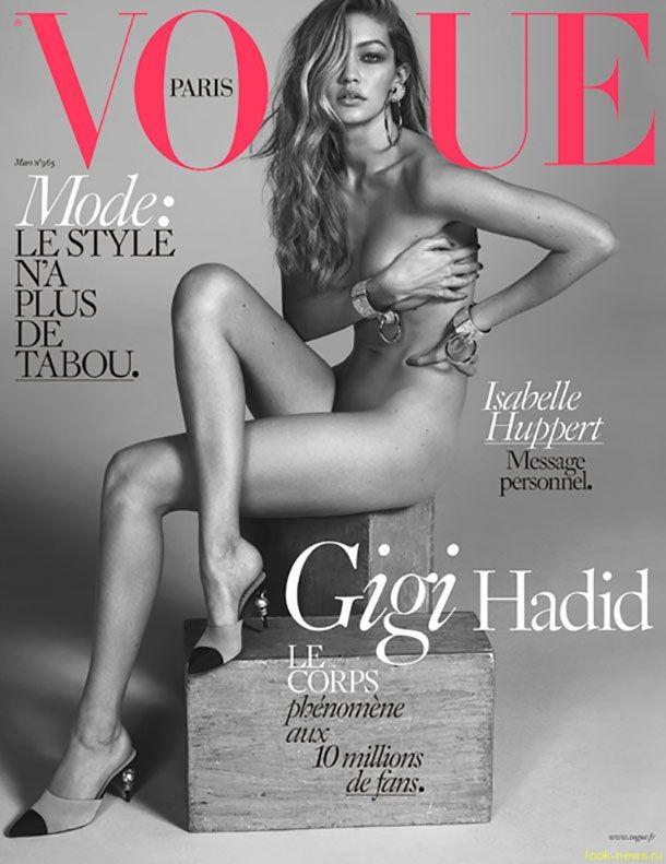 Модель Victoria's Secret разделась догола