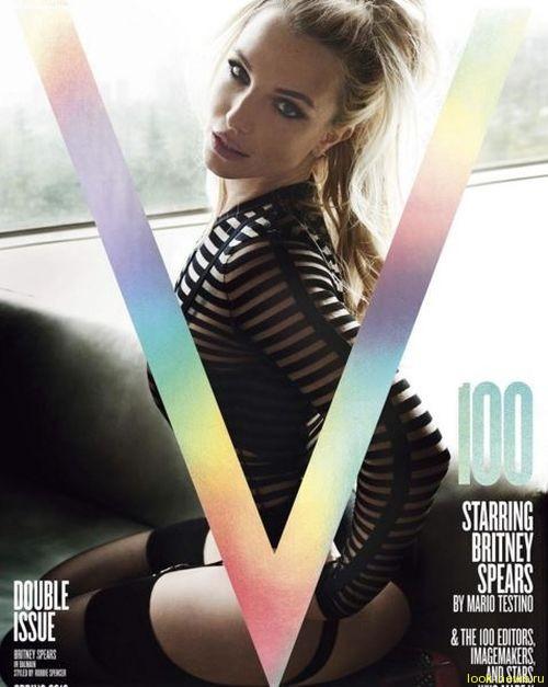 Похудевшая Бритни Спирс разделась для обложки