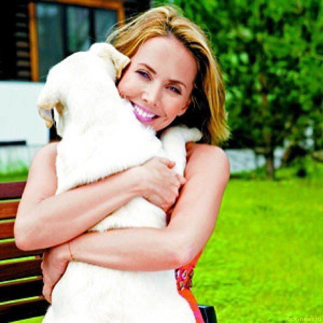 Любимая собака Жанны Фриске проходит курс химиотерапии