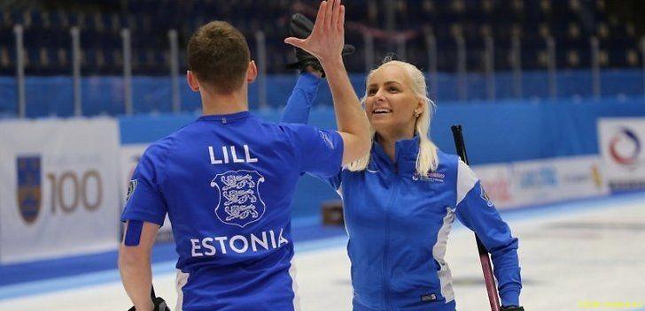 Россияне выиграли золото в дабл-миксте, эстонцы в шестерке лучших пар мира