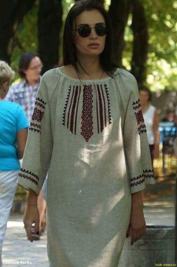 Анастасия Приходько поразила нежной фотосессией в вышиванке