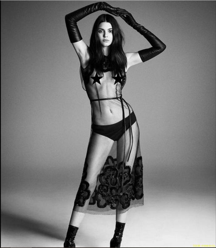 20-летняя модель Кендалл Дженнер заставила женщин любить свои соски