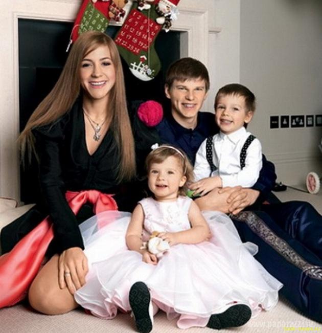 Аршавин встретился со своими детьми от Барановской