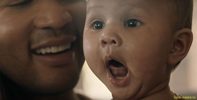 Джон Ледженд представил клип с дочерью и женой Крисси Тейген