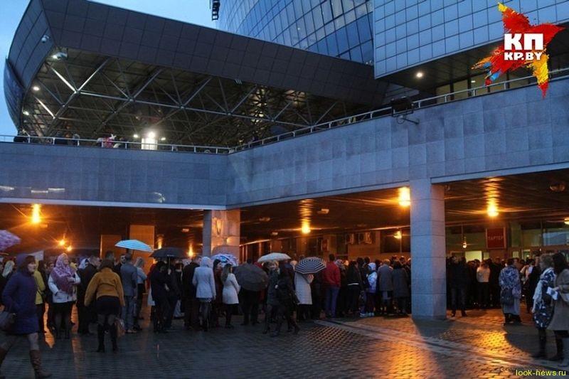На концерте в Минске Григорий Лепс показывал неприличные жесты
