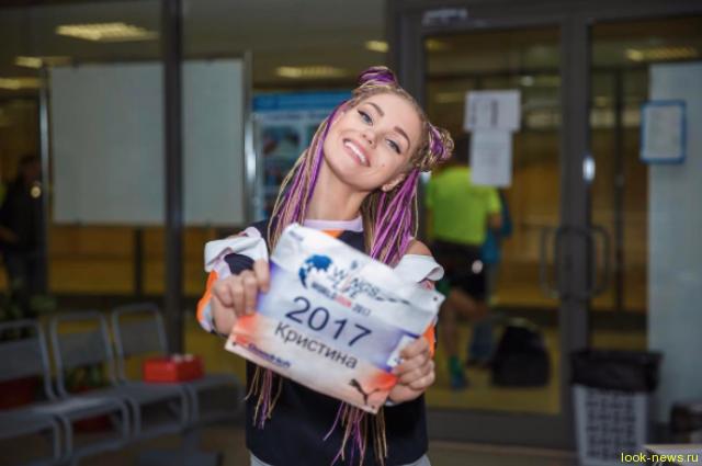 Кристина Асмус кардинально сменила имидж и приняла участие в мировом забеге