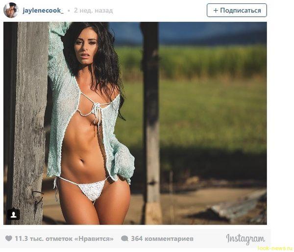 Модель Playboy оскандалилась из-за голого снимка на святыне