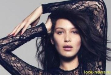 Скандальная модель Белла Хадид шокировала Каннский фестиваль «голым» нарядом