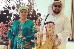 Анна Нетребко и Юсиф Эйвазов с сыном отдыхают в ОАЭ