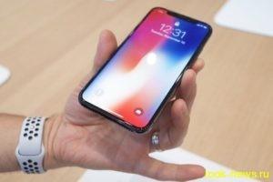Себестоимость iPhone X