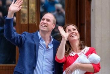 Герцог и герцогиня Кембриджские показали новорожденного