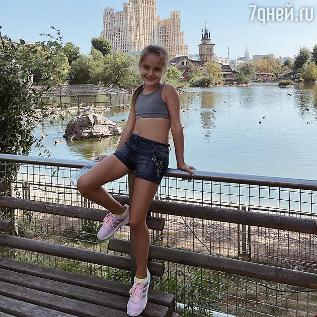 Кристина Орбакайте показала повзрослевшую за лето дочку
