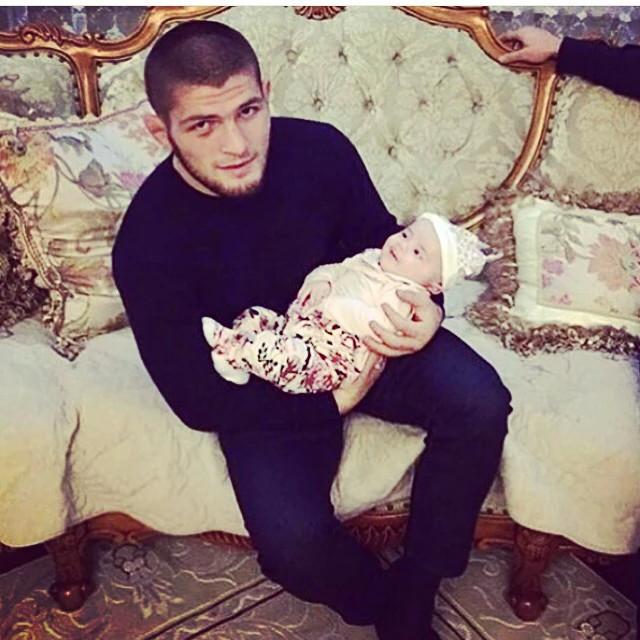 Чемпион UFC Хабиб Нурмагомедов