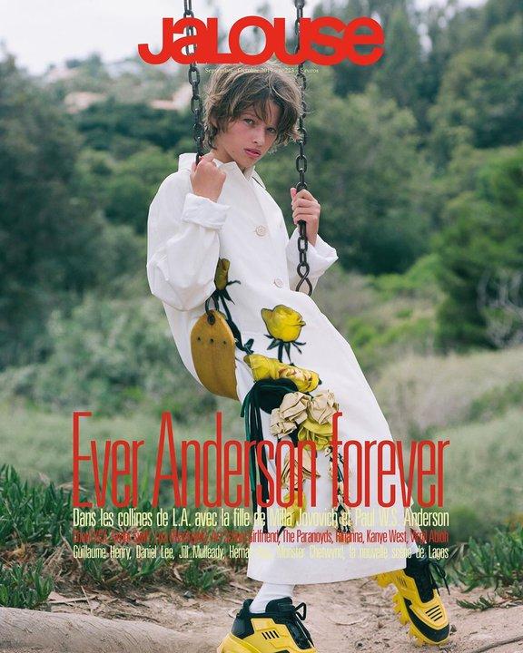 11-летняя дочь Миллы Йовович впервые на обложке глянца